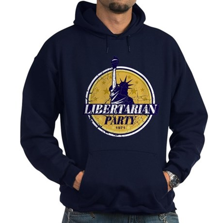 Libertarian (Vintage) Hoodie (dark)