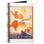 Railway Express Poster 1935 Journal
