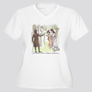 Pride & Prejudice Ch 49 Women's Plus Size V-Neck T