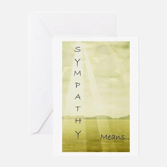 Sympathy card for mom