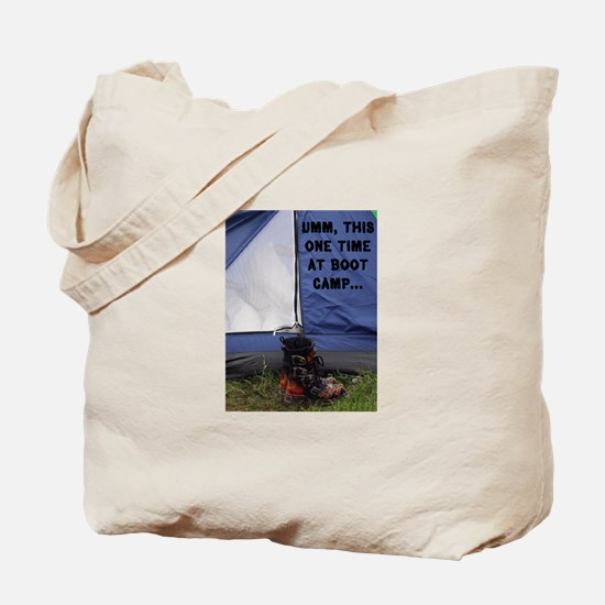 Boot Camp Tote Bag