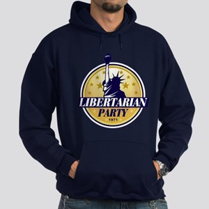 Libertarian Hoodie (dark)
