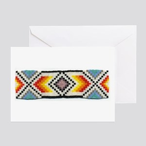 Beaded Tribal Band 2 Greeting Cards (Pk of 10)