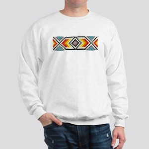 Beaded Tribal Band 2 Sweatshirt