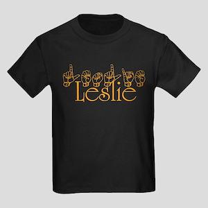 Leslie Kids Dark T-Shirt