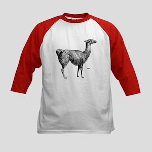 Llama (Front) Kids Baseball Jersey