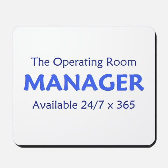 OR Manager Mousepad