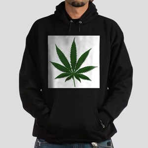 Marijuana Pot Leaf Hoodie (dark)