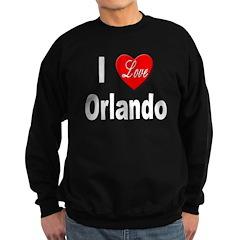I Love Orlando Sweatshirt (dark)