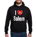 I Love Salem Hoodie (dark)