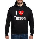 I Love Tucson Arizona Hoodie (dark)