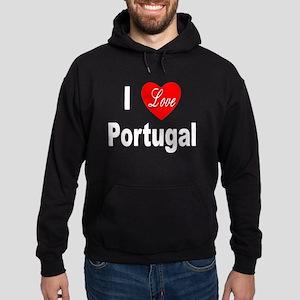 I Love Portugal Hoodie (dark)