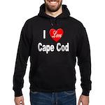 I Love Cape Cod Hoodie (dark)