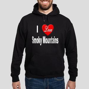 I Love Smoky Mountains Hoodie (dark)