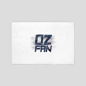 Oz Fan 4' x 6' Rug