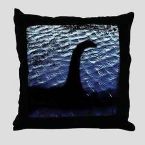 I Believe Nessie Lives Throw Pillow