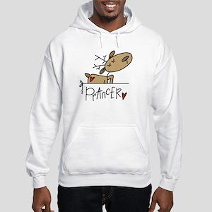 Prancer Hooded Sweatshirt