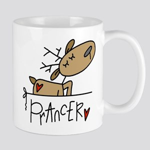 Prancer Lefty Mug