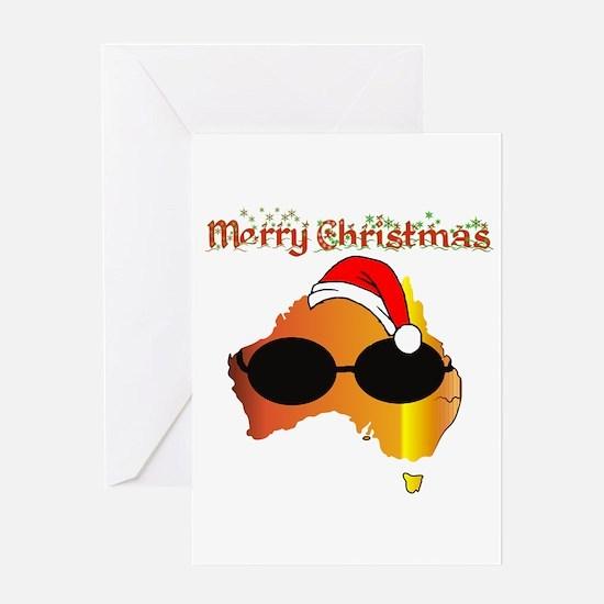 Merry Xmas Australia Greeting Card
