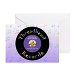 Threadhead Records Greeting Cards (Pk of 10)