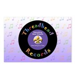 Threadhead Records Postcards (Package of 8)