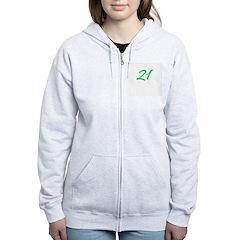 Twenty One Zip Hoodie