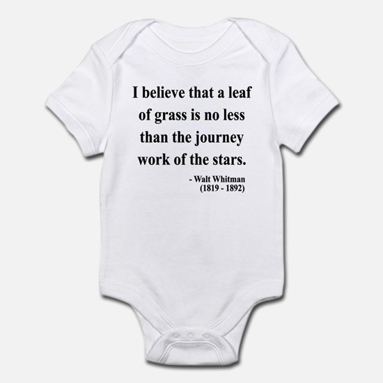 Walt Whitman 19 Infant Bodysuit