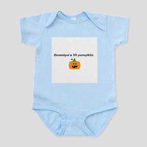 Grandpa's lil pumpkin Infant Creeper