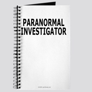 Paranormal Investigator Pro Journal