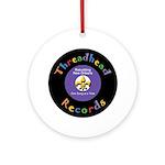 Threadhead Records Ornament (Round)
