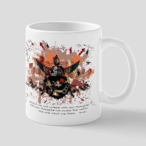 Buddha Buddhist Grunge Mug