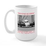 TheDesperateBlogger.com Large Mug