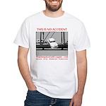 TheDesperateBlogger.com White T-Shirt