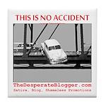 TheDesperateBlogger.com Tile Coaster