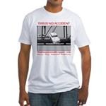 TheDesperateBlogger.com Fitted T-Shirt