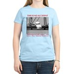 TheDesperateBlogger.com Women's Light T-Shirt