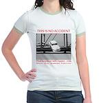 TheDesperateBlogger.com Jr. Ringer T-Shirt