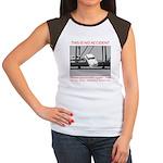 TheDesperateBlogger.com Women's Cap Sleeve T-Shirt
