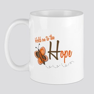 Hold On To Hope 1 Butterfly 2 ORANGE Mug