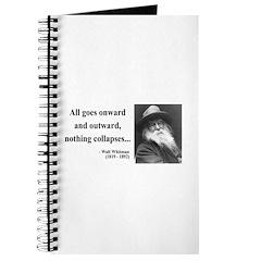 Walt Whitman 20 Journal