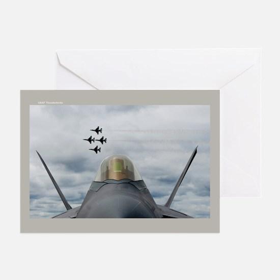 Thunderbird Diamondbacks Greeting Cards (Pk of 10)
