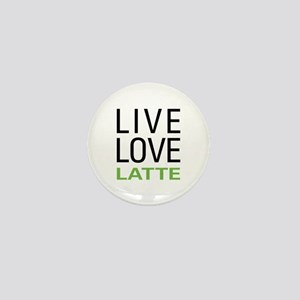 Live Love Latte Mini Button