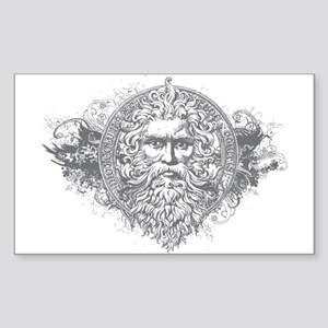 Greek Mythology Rectangle Sticker