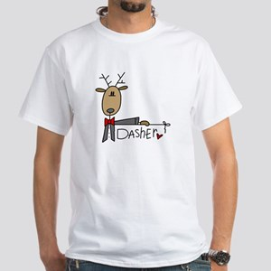 Dasher White T-Shirt