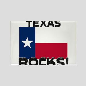 Texas Rocks! Rectangle Magnet