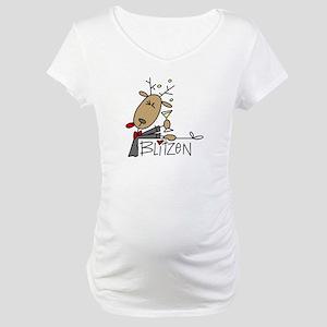 Blitzen Maternity T-Shirt