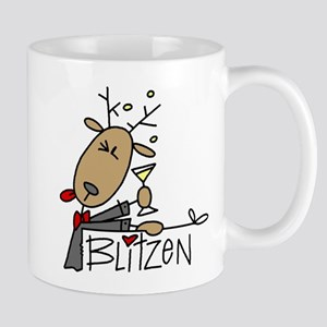 Blitzen Lefty Mug