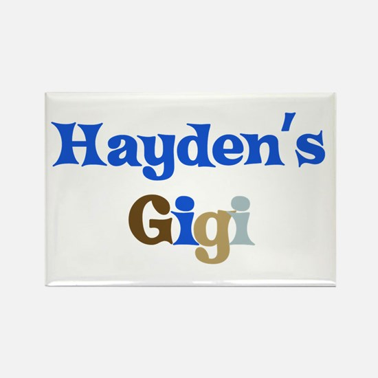 Hayden's Gigi Rectangle Magnet