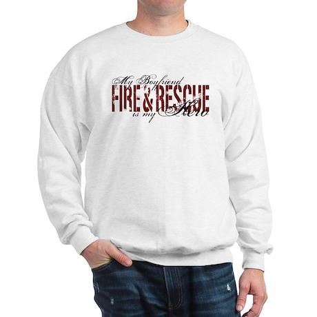 Boyfriend My Hero - Fire & Rescue Sweatshirt