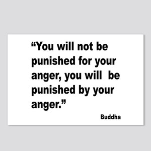 Buddha Anger Quote Postcards (Package of 8)
